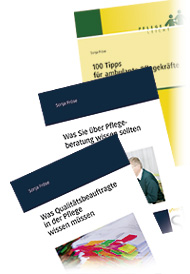 Titelbilder Pflegeliteratur von Sonja Fröse, Pflege-Fachautorin aus Berlin